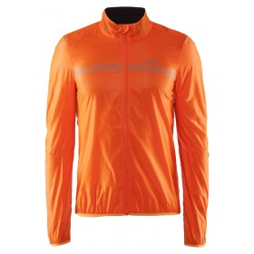 Craft featherlight veste coupe-vent orange