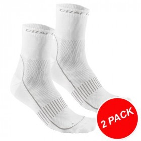 CRAFT Cool Training Sock 2-Pack White