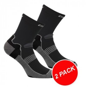 CRAFT Warm Training Sock 2-Pack Black