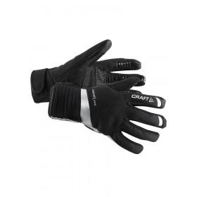 Craft shield gant de cyclisme noir