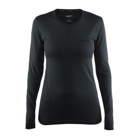 CRAFT Active Comfort RN Lady Shirt LM Black Solid