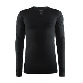 CRAFT Active Comfort RN Shirt LM Black Solid
