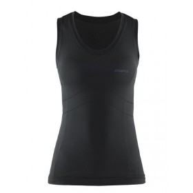CRAFT Cool Seamless Lady Singlet Black