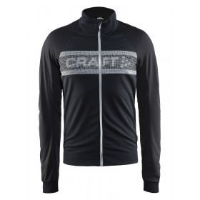 CRAFT Shield Jacket Black Bright Red