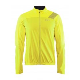 Craft verve veste imperméable flumino jaune