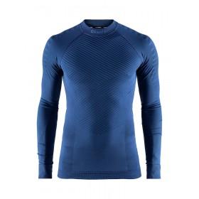 Craft active intensity CN sous-vêtement manches longues maritime bleu