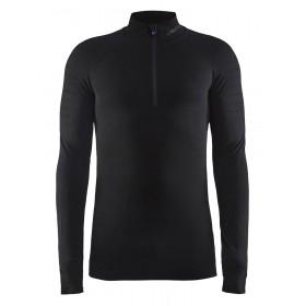 Craft active intensity zip sous-vêtement manches longues noir