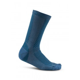 Craft warm mid chaussettes 2-pack fjord trooper bleu
