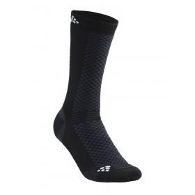 Craft warm mid chaussettes noir blanc