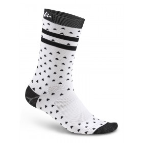 Craft pattern chaussettes blanc noir