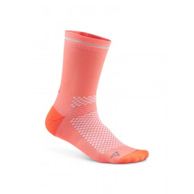Craft visible chaussettes panic rose argent