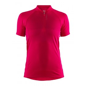 Craft rise maillot de cyclisme femme manches courtes jam rose