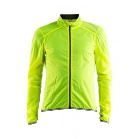Craft lithe veste coupe-vent flumino jaune noir