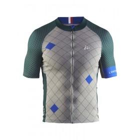 Craft monument maillot de cyclisme manches courtes Paris Roubaix