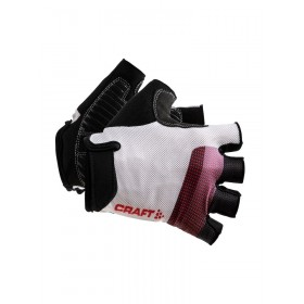 Craft go gant de cyclisme blanc rouge
