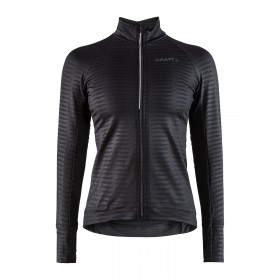 Craft velo thermal 2.0 maillot de cyclisme femme manches longues noir