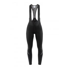 Craft ideal thermal cuissard de cyclisme long à bretelles femme noir