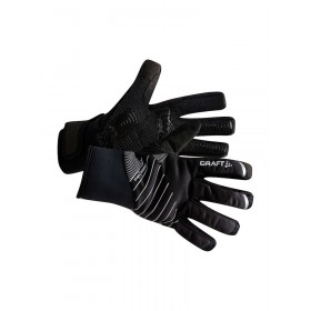 Craft shield 2.0 gants de cyclisme noir