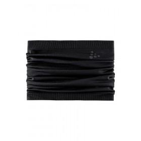 Craft warm comfort neck warmer sjaal zwart