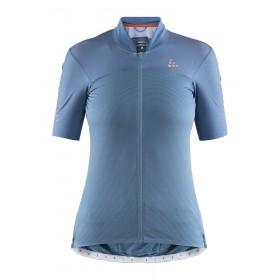 Craft hale glow maillot de cyclisme manches courtes femme shore boost bleu