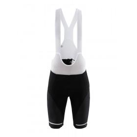 Craft hale cuissard de cyclisme courtes à bretelles noir blanc