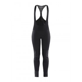 Craft ideal pro wind cuissard de cyclisme longues à bretelles femme noir p intersect