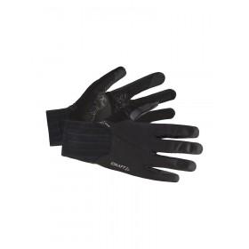 Craft all weather gants de cyclisme noir