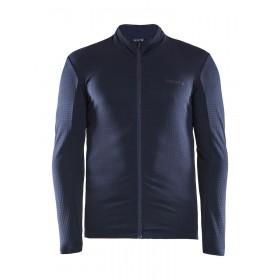 Craft ideal thermal maillot de cyclisme à manches longues cuts blaze bleu