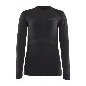 Craft active intensity cn sous-vêtement à manches longues femme noir asphalt