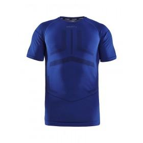 Craft active intensity sous-vêtement à manches courtes burst blaze bleu