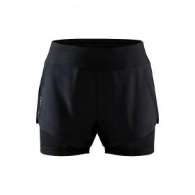 Craft Adv Essence 2-In-1 Shorts W - Black