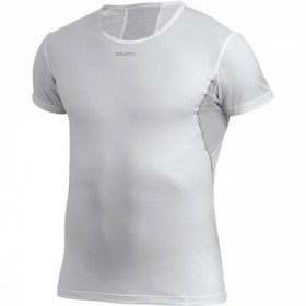 CRAFT Cool Tee With Mesh White Silver