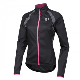 Pearl izumi elite barrier veste de cyclisme femme noir gris
