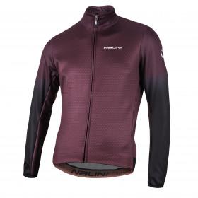 Nalini adhara veste de cyclisme bordeaux noir