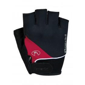 Roeckl napoli gant de cyclisme noir rouge