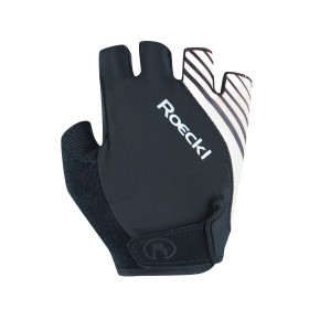 Roeckl Handschoen Naturns Black/ White