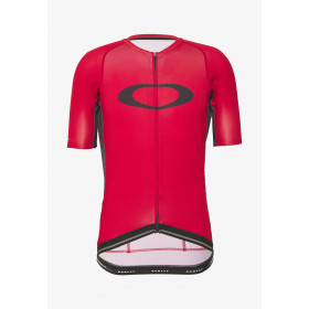 Oakley icon 2.0 maillot de cyclisme à manches courtes high risk rouge
