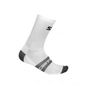 Castelli Team Sky free 12 chaussettes de cyclisme blanc
