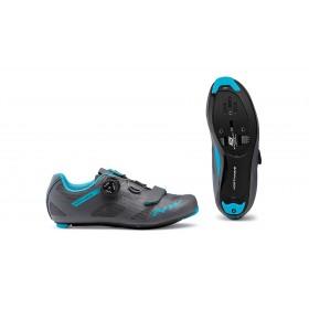 Northwave storm chaussures route femme anthracite aqua