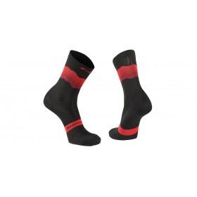 Northwave switch chaussettes de cyclisme noir rouge