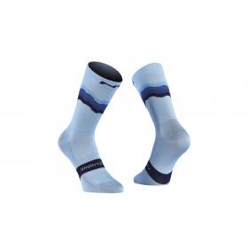 Northwave switch chaussettes de cyclisme azure bleu