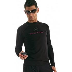 ASSOS Sponsor Yourself LS T-Shirt Ametysta
