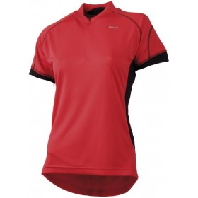 AGU Verrado Lady Shirt KM Red