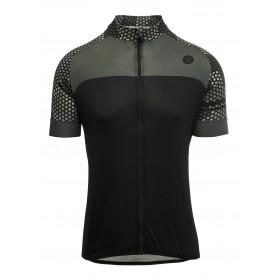 Agu hexa camo maillot de cyclisme manches courtes noir