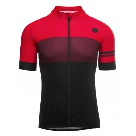 Agu bloc maillot de cyclisme manches courtes windsor wine