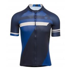 Agu essential inception maillot de cyclisme manches courtes rebel bleu