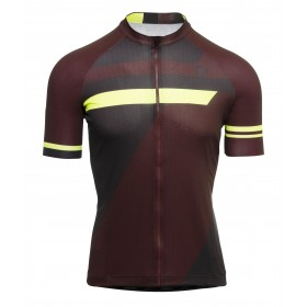 Agu essential inception maillot de cyclisme manches courtes windsor wine