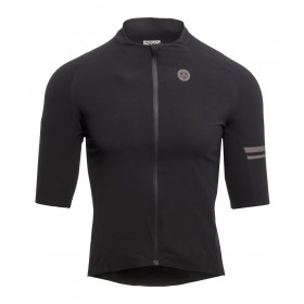 Agu premium woven maillot de cyclisme manches courtes noir