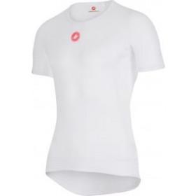 Castelli pro issue vêtement manches courtes blanc