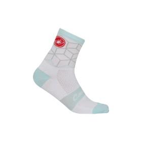 Castelli vertice chaussettes de cyclisme blanc